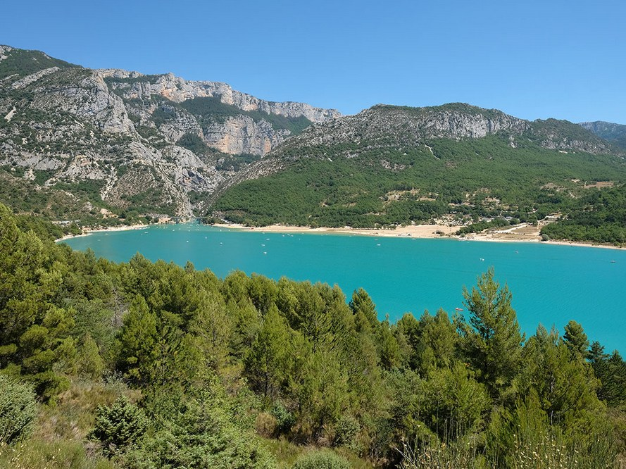 Le lac-de-Sainte-Croix