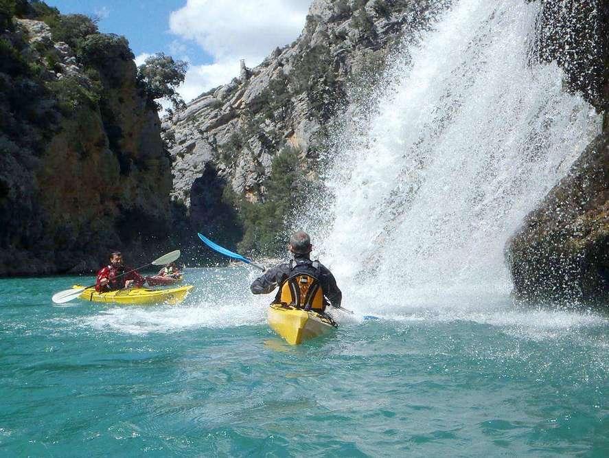Randonnée Kayak - Les Oliviers du Verdon